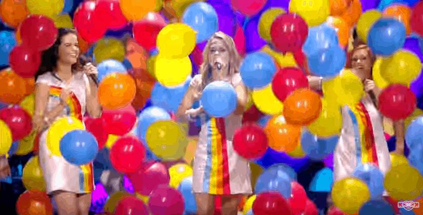 tekst van de nieuwe hit van k3: 10.000 luchtballonnen