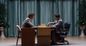 Pawn Sacrifice Bobby Fisher in Reijkjavik tegen Boris Spassky