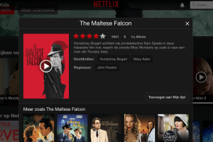 Netflix The Malthese Falcon