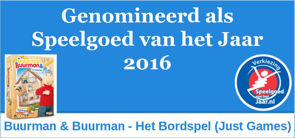 2016 SVHJ16 Buurman en Buurman Bordspel