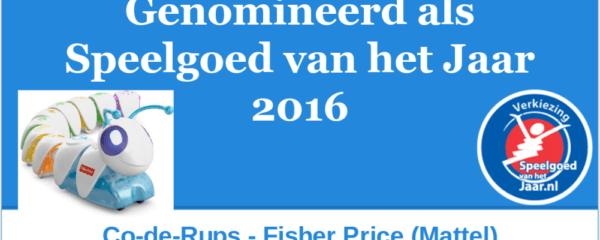 2016 SVHJ2016 Co-de-ruos FisherPrice Mattel