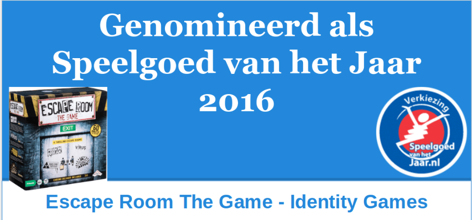 2016 SVHJ2016 Escape Room The Games Identity Games