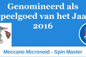 2016 SVHJ2016 Meccano Micronoid Spin Master