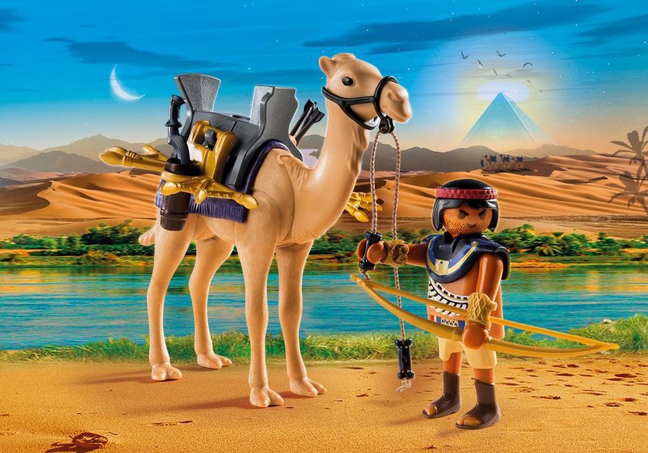 playmobil-egypte-thema-artikel-copyright-trotse-vaders-krijger-dromedaris