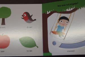 Mijn schuifboekje De tuin, geschreven door Nathalie Choux, uitgegeven door Clavis bvba