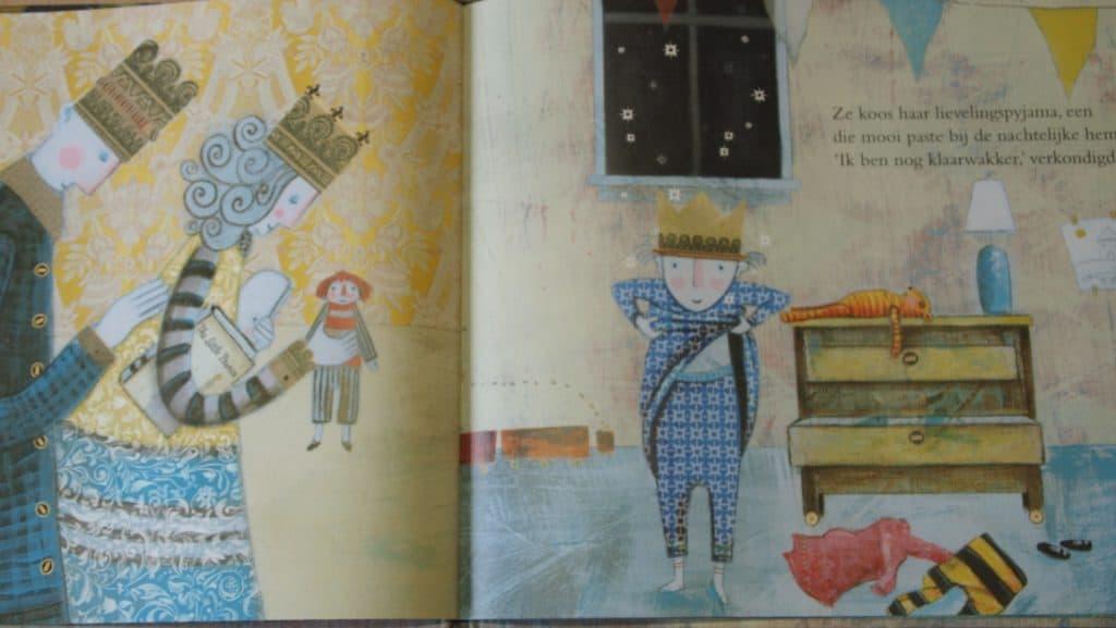 Slaap als een tijger, geschreven door Mary Logue, uitgebracht door Christofoor